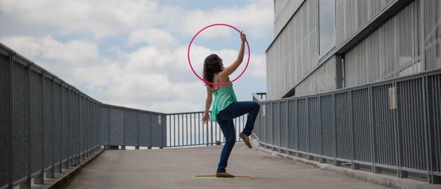[Cours] de Hoopdance à Nantes
