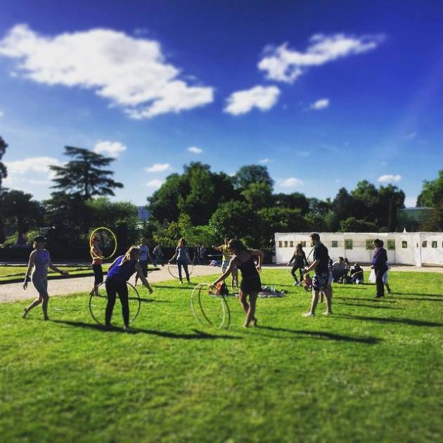 [Cours] de Hoopdance à Rouen