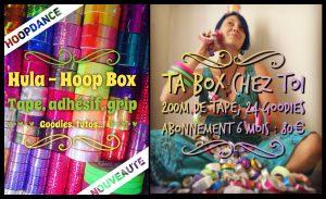 Hula hoop box